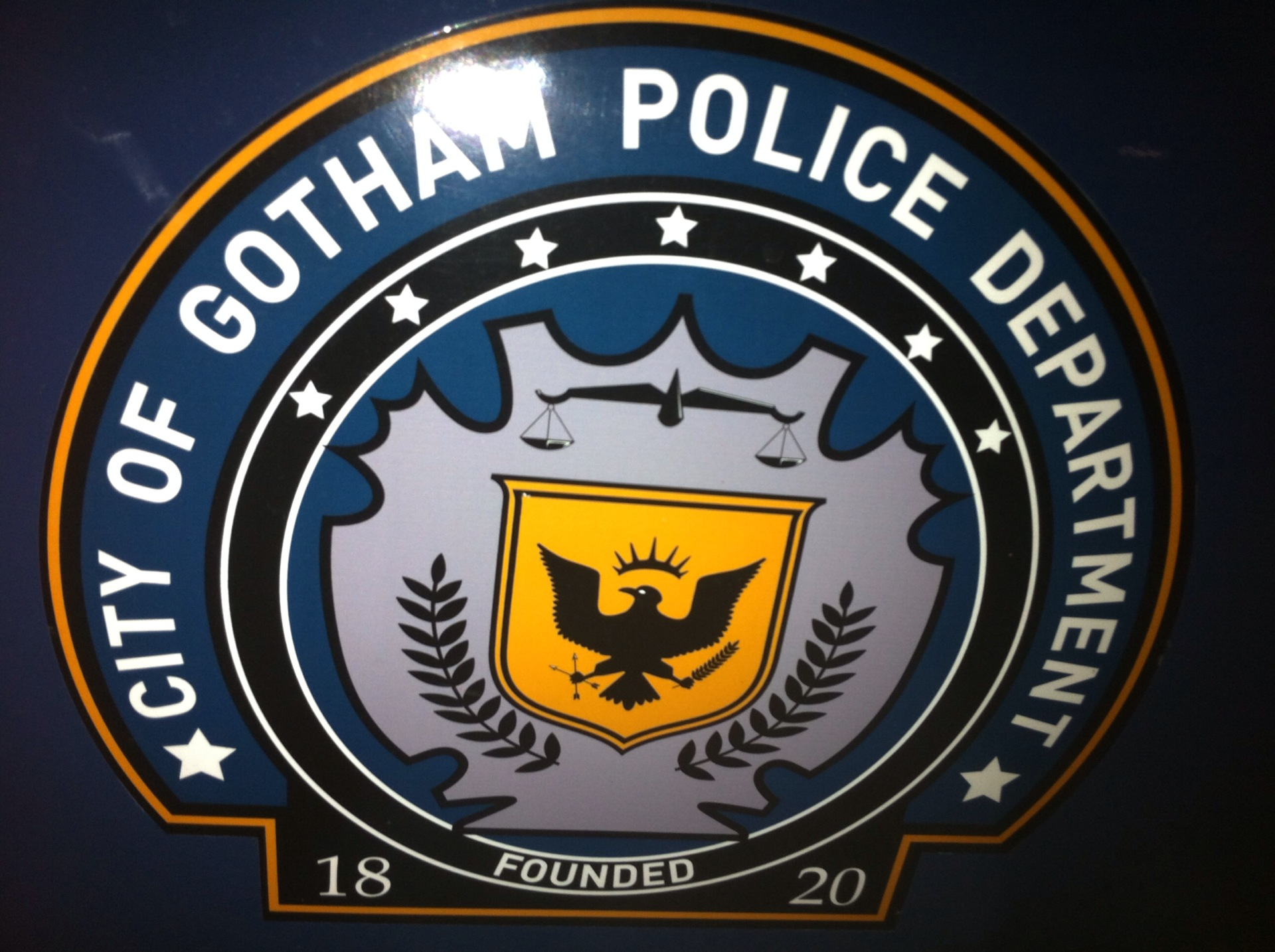 Picture link game. - Page 6 Gotham-City-Police-Department-The-Dark-Knight-Rises