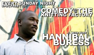 comedy-night-hosted-by-hannibal-buress-at-the-knitting-factory-free-on-sundays