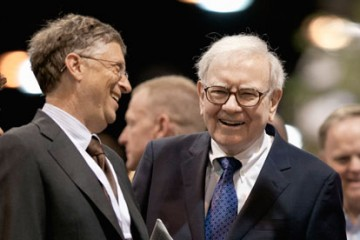 Warren Buffett-Bill Gates-Let's-Sacrifice-A-Rich-Guy