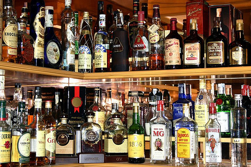 Liquor Cabinet Bar Basics Drinking At Home