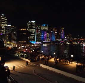 Sydney-view-from-Opera-House-Steps-Vivid-Exhibition-Circulat-Quay-Sydney-29-05-2013-285x280