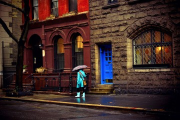 Infused Afterglow - Rain - Greenwich Village - New York City-XL