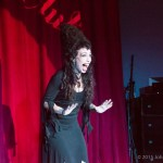 Your host. Half-Elvira, half-Liza Minelli, half-Blackstone! Three halves? MAGIC! (photo by John Huntington)