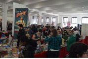 Con Floor - 2015 MoCCA Fest via Society of Illustrators