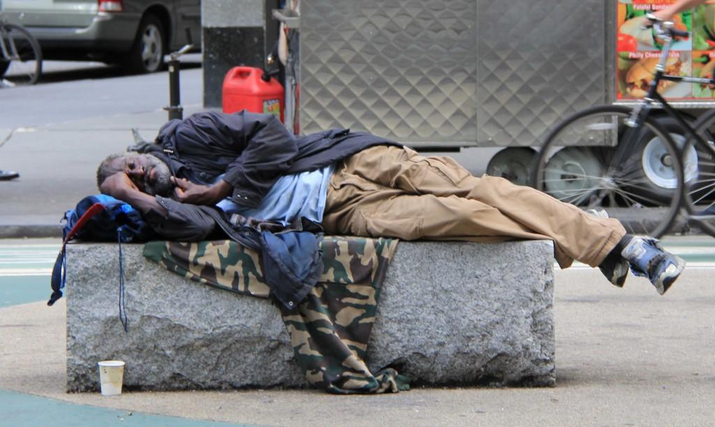 the major social problem of homelessness in america
