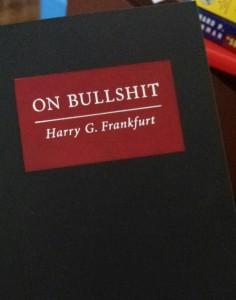 Photo Credit: Me damn it, it's my book of bullshit