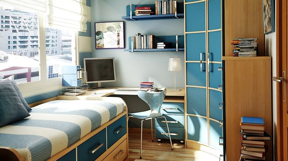 Mens Bedroom Designs Small Space. Fabulous Bedroom Inspiring Small ...