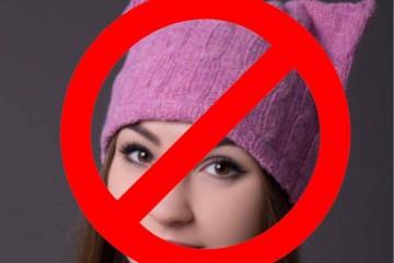 No pink hat