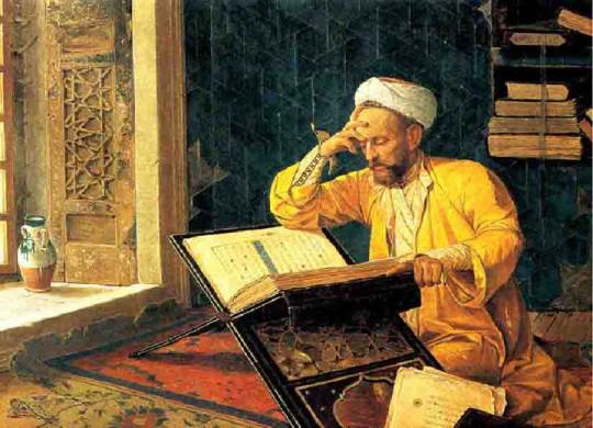 Omar Khayyam at work - Via http://terrasus.com