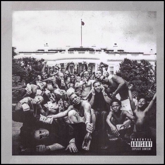 """Kendrick Lamar's cover to 2015's """"To Pimp A Butterfly"""""""