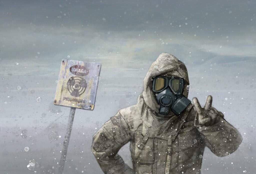 Scary nuclear winter - Via: Pinterest
