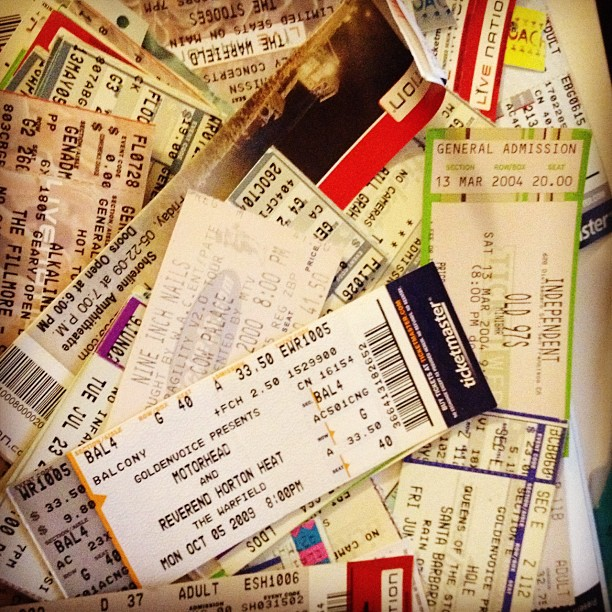 every ticket has a story story