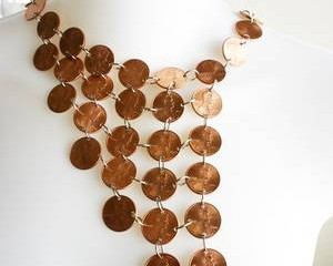 dollar store crafts penny waterfall necklace