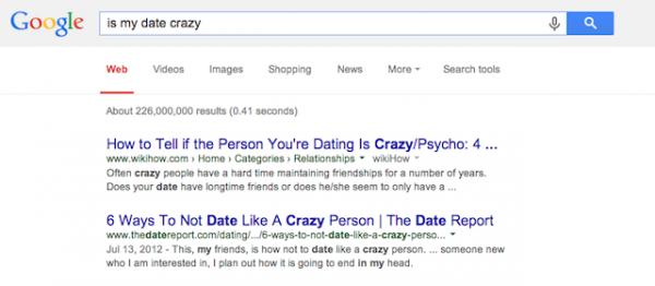 be dating google sex