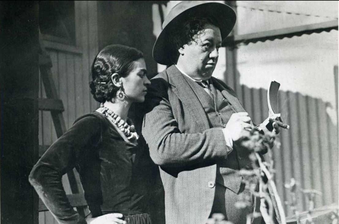 c8f71226486e SFCentric History  When Frida Kahlo and Diego Rivera Created in San  Francisco