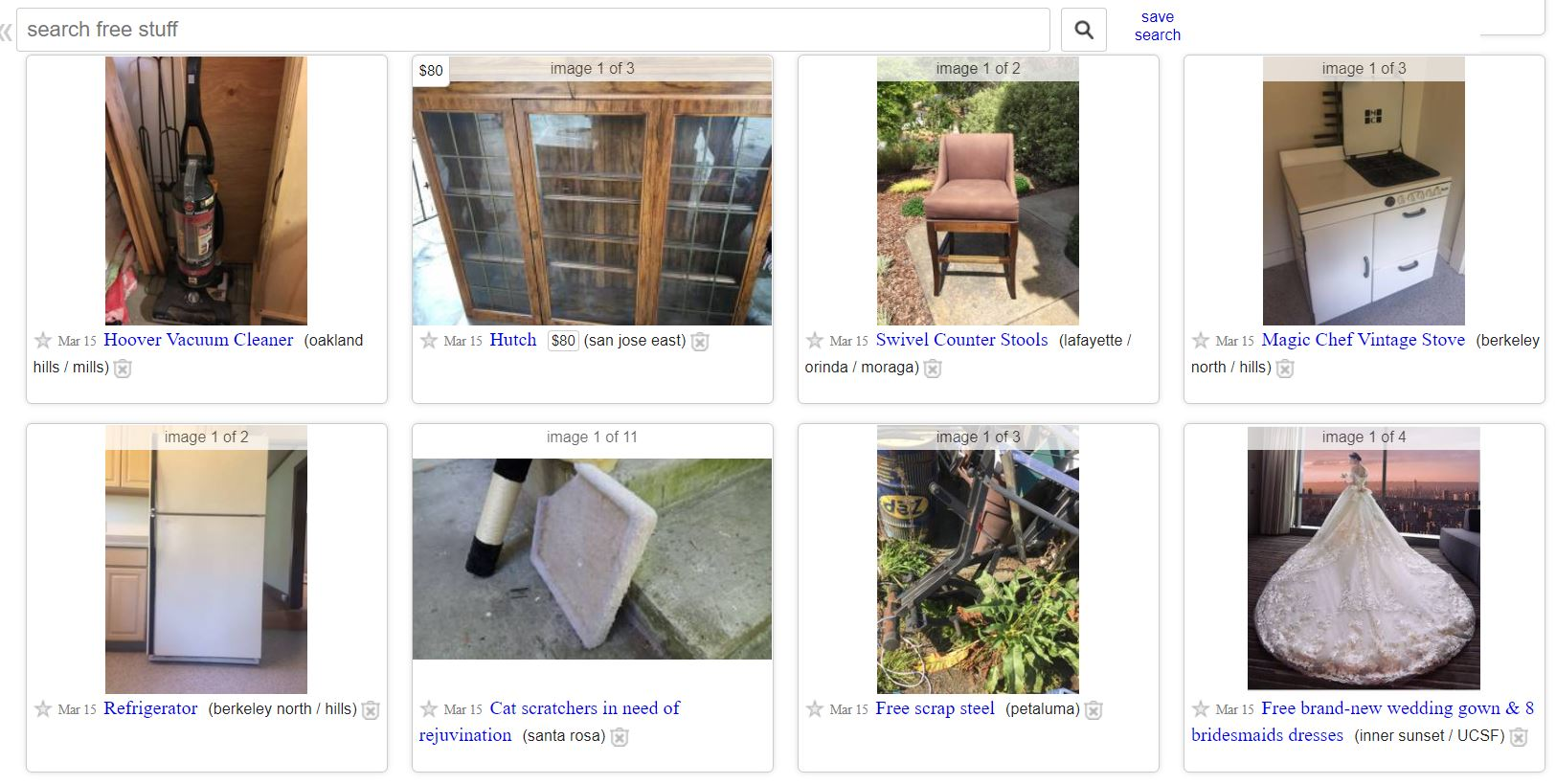 The Weird and Wonderful World of Craigslist 'Free' - Broke