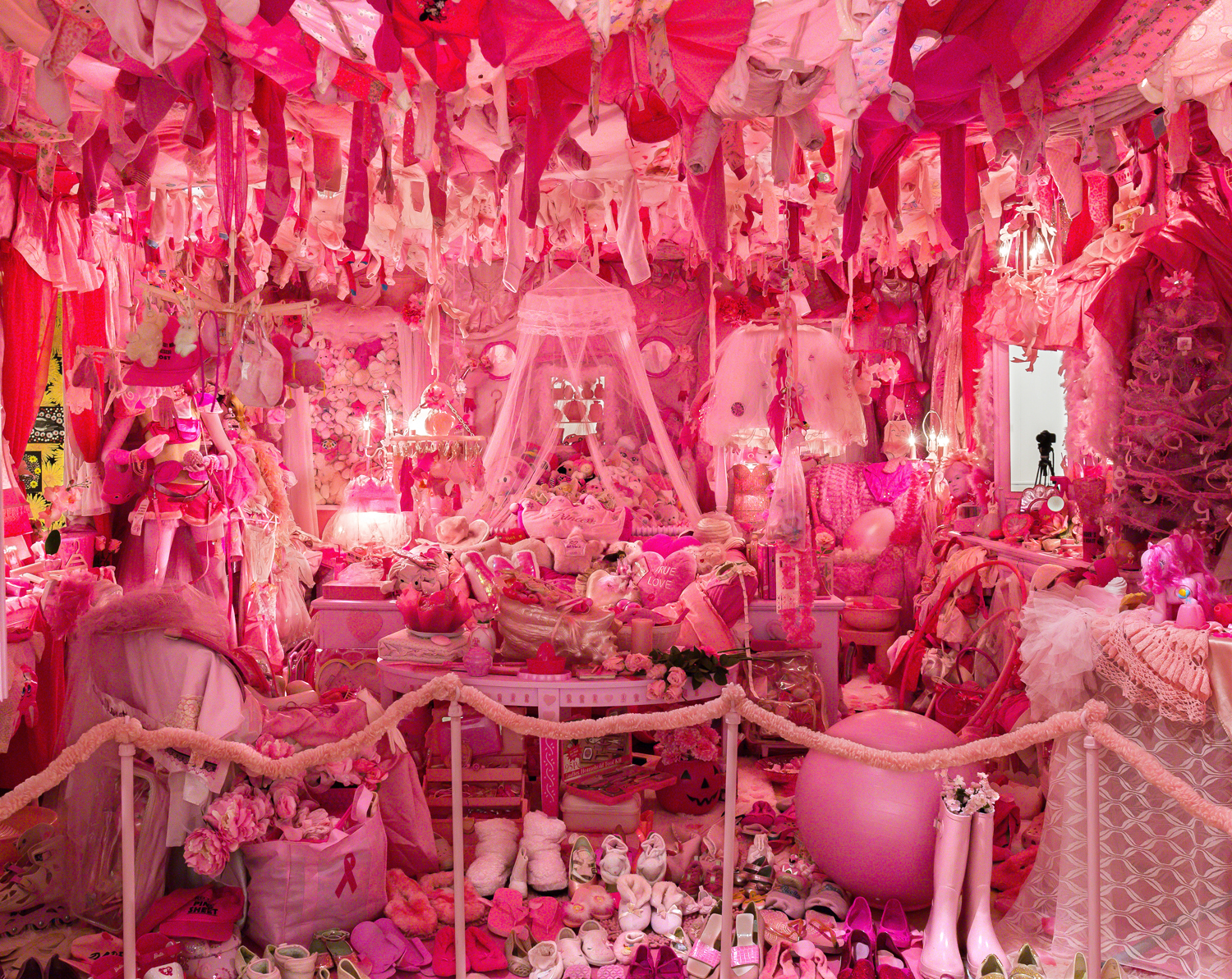 The Pink World of Portia Munson at Bedford Gallery - Broke Ass ...