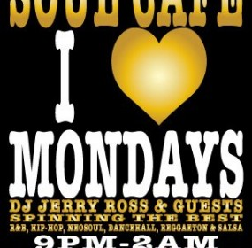 Soul Cafe I Love Mondays 10/03