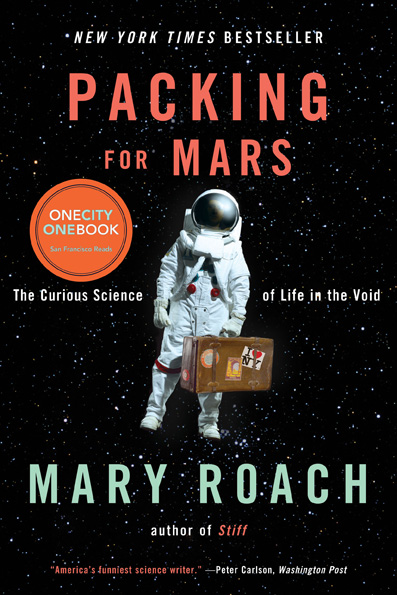 One City One Book SF: Mary Roach in Conversation with Adam Savage