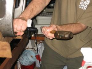 firkin-beer-tap-keg-hammer copyright Thomas Cizauskas