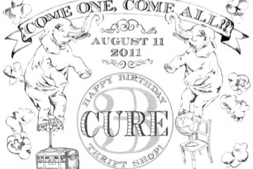 cure thrift birthday ad