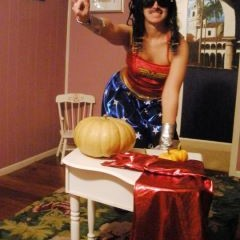 Stevie Wonder Woman Saves Halloween