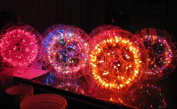 Светящиеся шары сделать своими руками