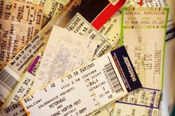 Every ticket has a story, story...
