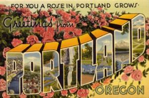 A Portland postcard
