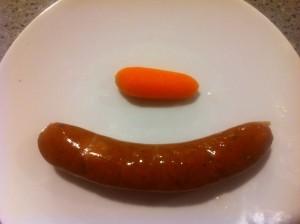 sausage-carrot-penis-size