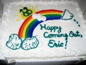 Coming Out Cake