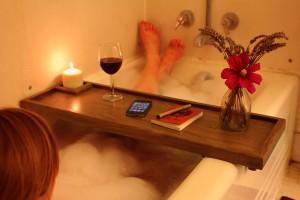 bath caddy instructables