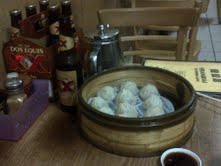Beer and soup dumplings