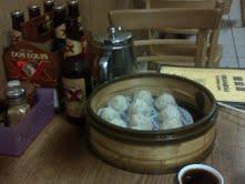 Beer and soup dumplings