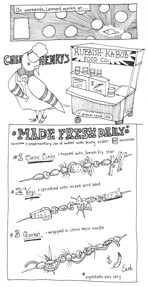 Leonard-and-the-Rubbish-Kabob-Food-Cart