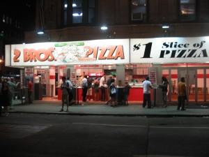 dollar pizzas