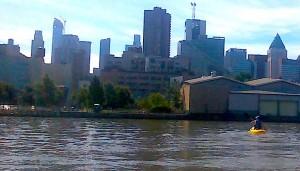 Free kayaking at Pier 96