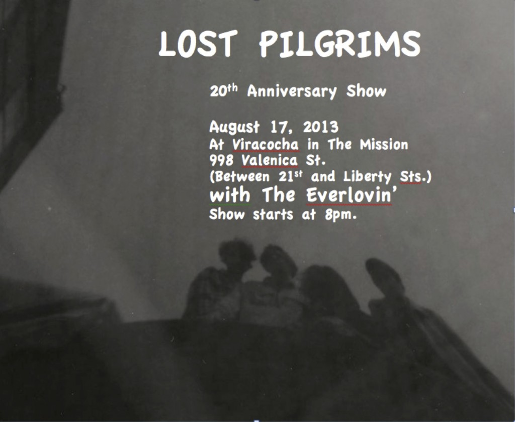 Lost Pilgrims flyer