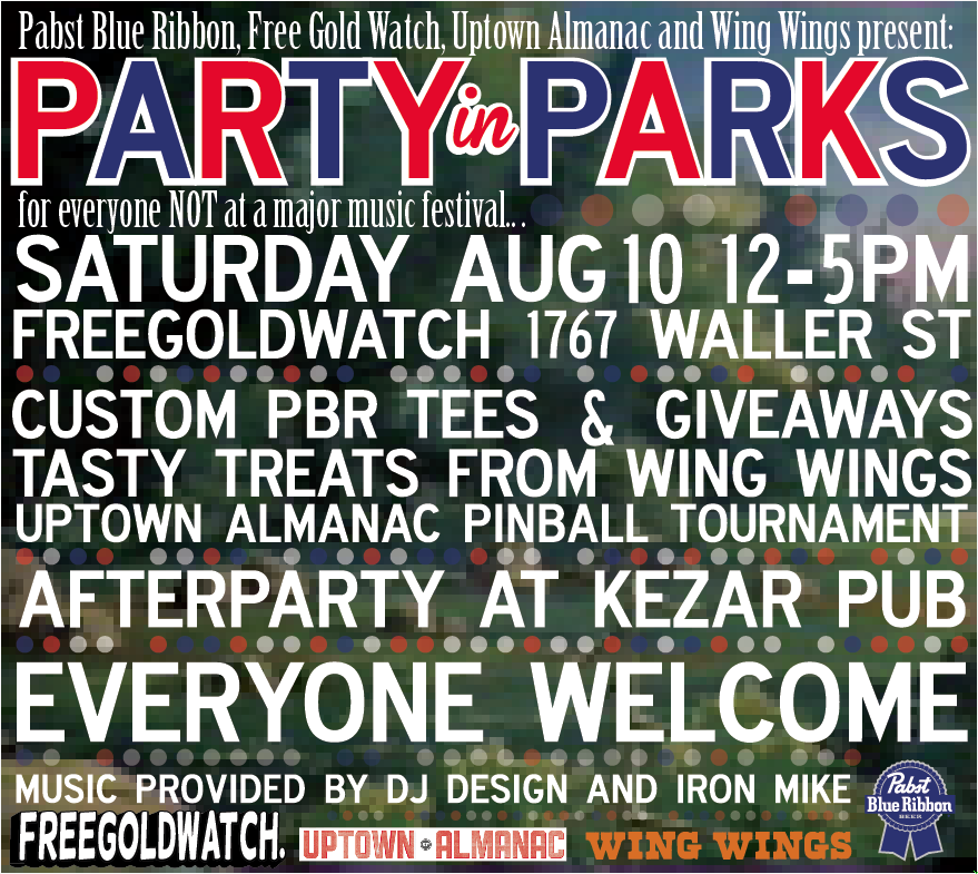 Party-in-parks