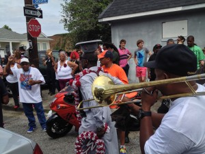 Second Line at Second and Dryades