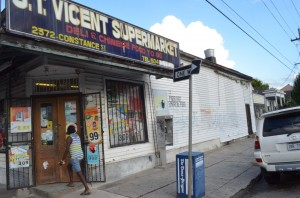 St. Vincent Supermarket