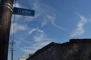 Treme St. Sign