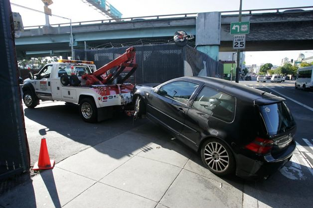 Cost Of Towed Car In Sf