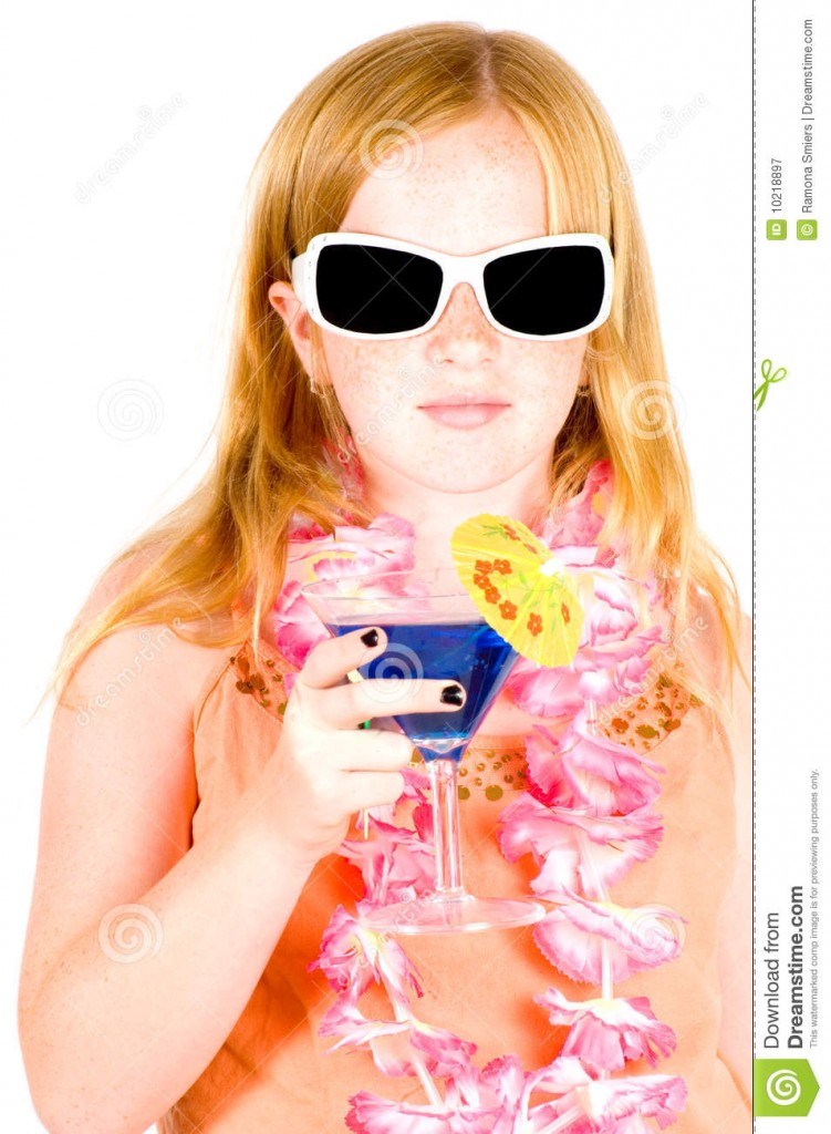 http://www.dreamstime.com/royalty-free-stock-photography-girl-drinking-blue-cocktail-image10218897