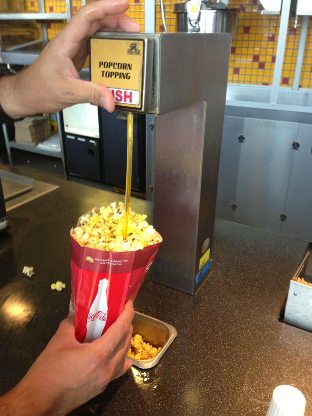 fat popcorn