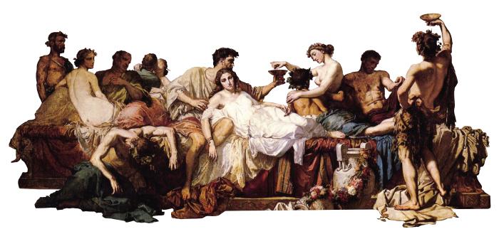 fat wine orgy