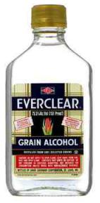 everclear grain alcohol 190 proof