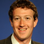 Mark Zuckerberg, Founder & CEO of Facebook, at the press confere