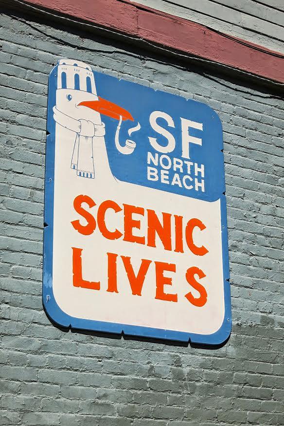 scenic sign