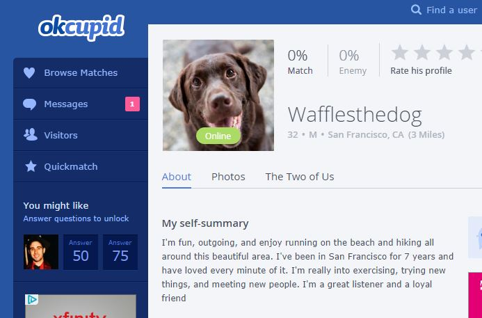 "puppy dating website ""leading dating website created exclusively for pet lovers whether you are looking for a life partner, a buddy for your pet or just someone to hang out with, here you'll be able to find."